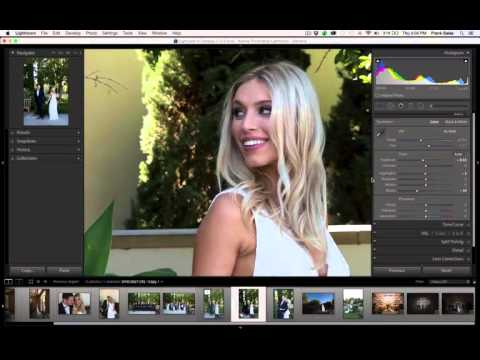 ON1 Pro Series – Converting wedding photos to black and white