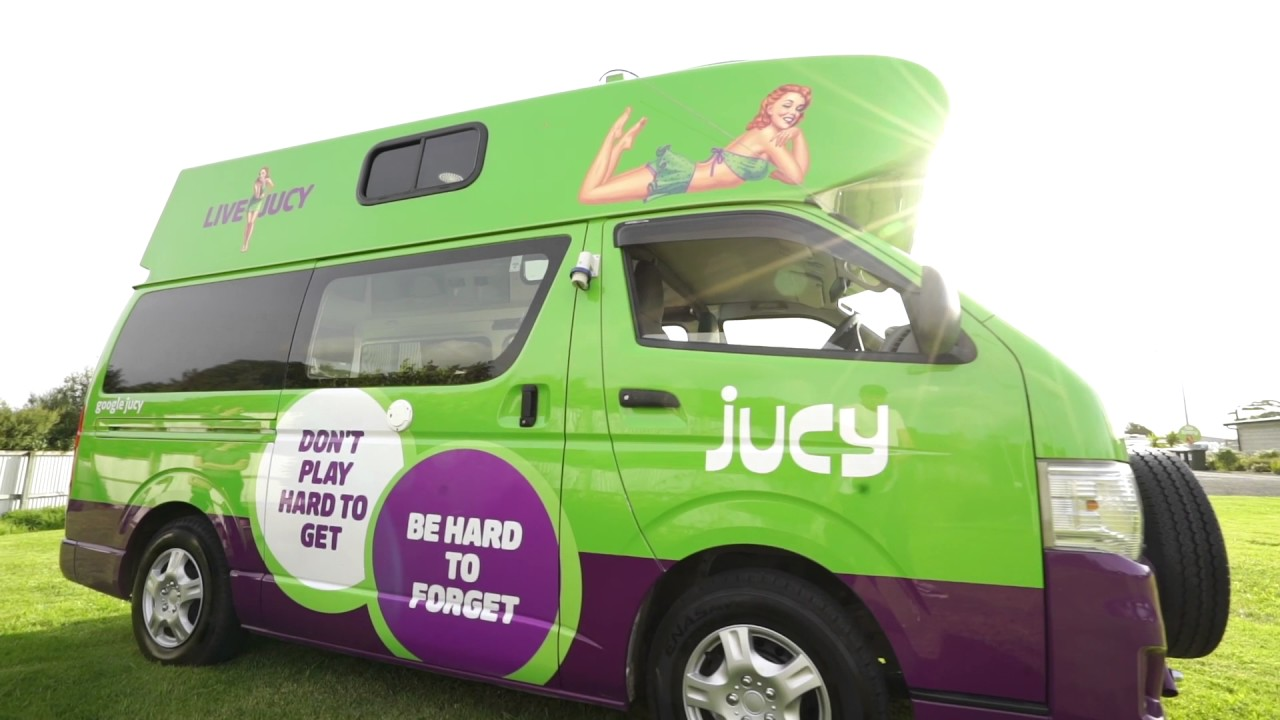 JUCY Condo Campervan | Walk Thru Tour - YouTube