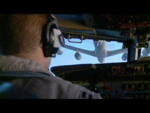 Boeing E-3 Sentry AWACS In Air Refueling