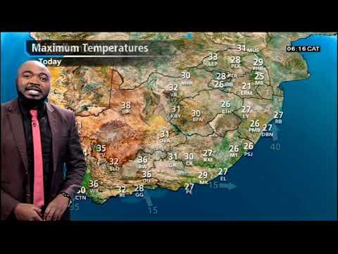 SA Weather | Monday, 18 February 2019 | #SABCWeather