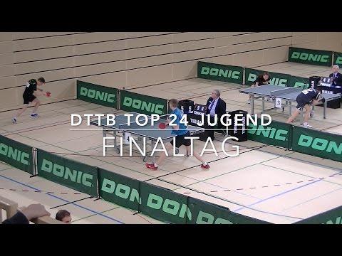 Deutsche Top 24 der männl. Jugend | Finaltag | Schlieh - Schmidt