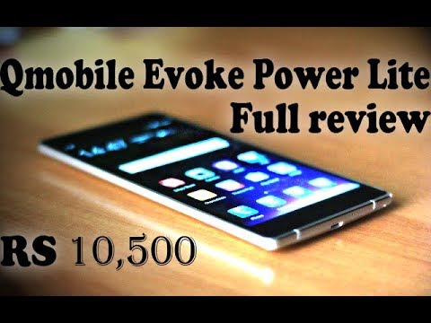 QMobile Evok Power Lite Full Review (RS.10,500) | Smart Reviews by PhoneWorld