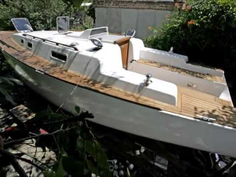 Копия видео handmade sailing yacht