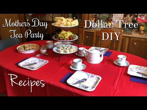 Mother's  Day Tea   Dollar Tree DIY   2018