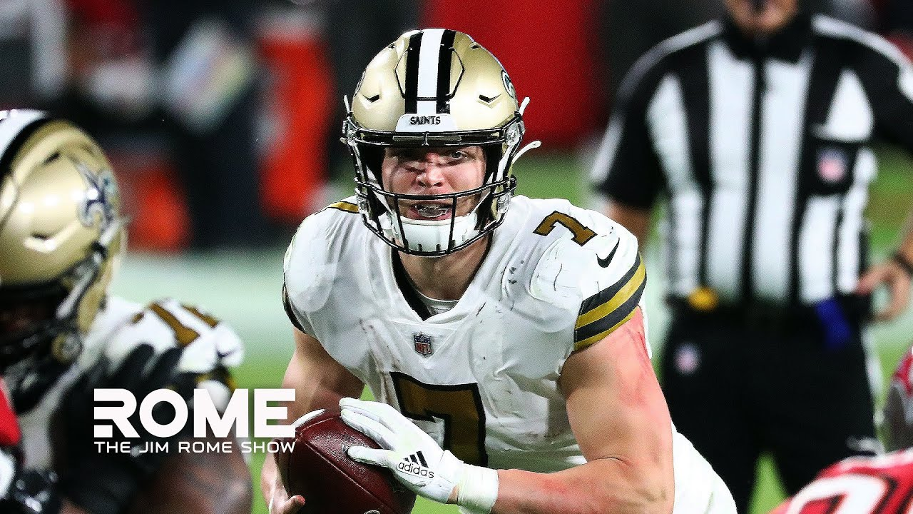 The Saints Start Taysom Hill OVER Jameis Winston | The Jim Rome Show