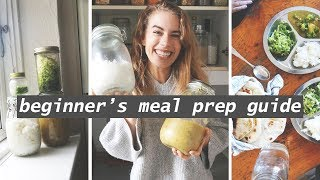 I tried 7 days of meal prep for the first time // this is what happened