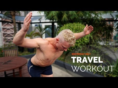 Full-Body Travel Workout (BODYWEIGHT ONLY)