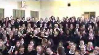 Pat Fitz at St Vincent's Secondary School, Cork