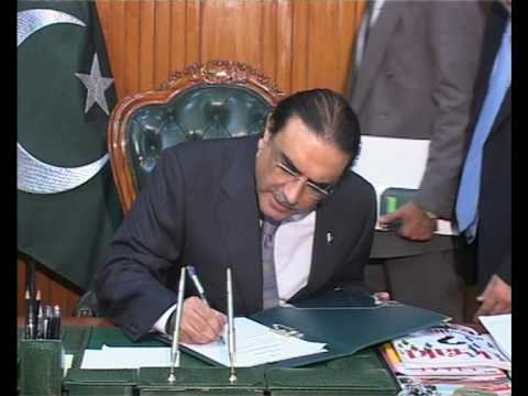 President Signs Gilgit Baltistan Reforms Package
