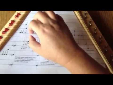 Ripple, by the Grateful Dead, Played on a Zither or Lap Harp by Debbie Center
