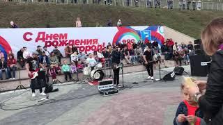altapress.ru Концерт кавер группы One day band на набережной в Барнауле.