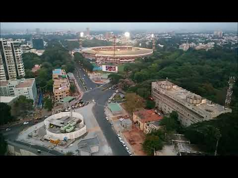 Chinnaswamy stadium timelapse