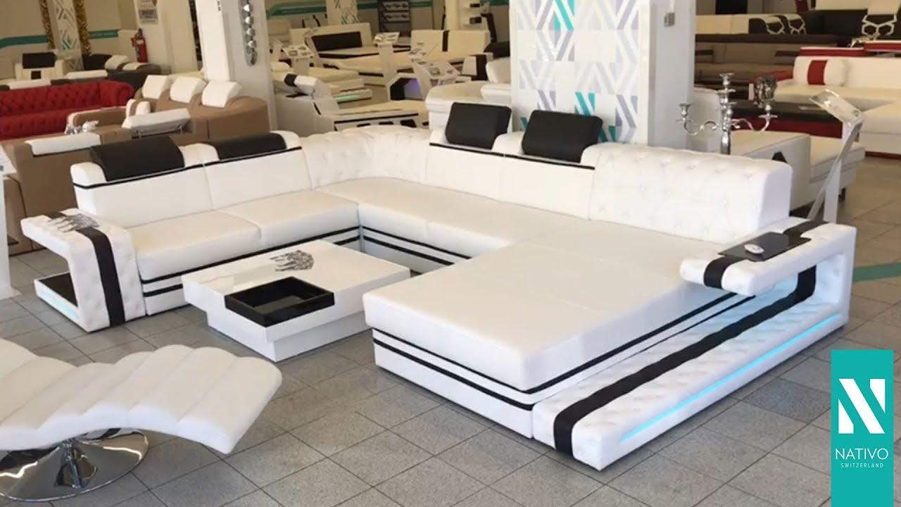 Nativo Möbel Deutschland Designer Sofa Imperial Xxl Mit Led
