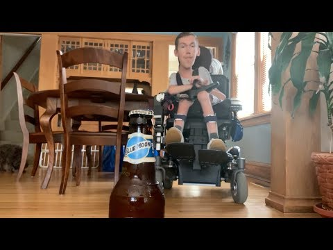 Pablo - Wheelchair User Does Bottlecap Challenge