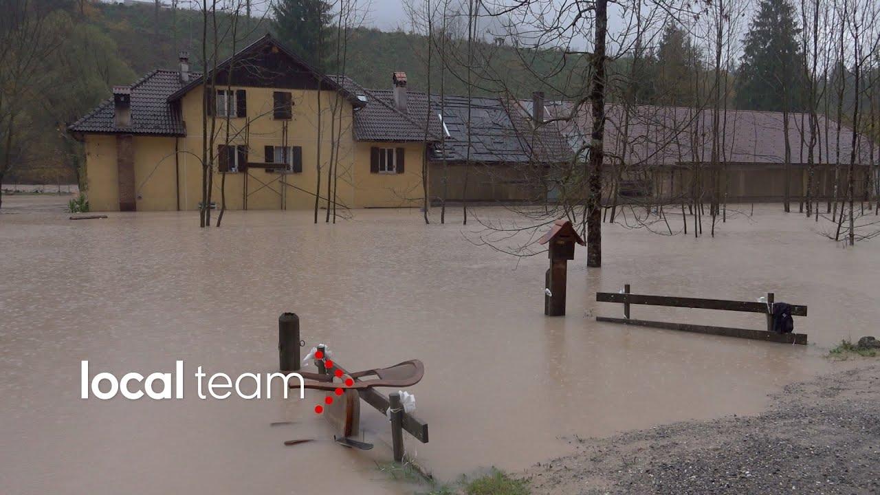 Risultati immagini per carnia alluvione 2018