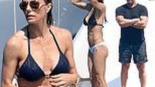 Sylvester Stallone's wife Jennifer Flavin in bikini
