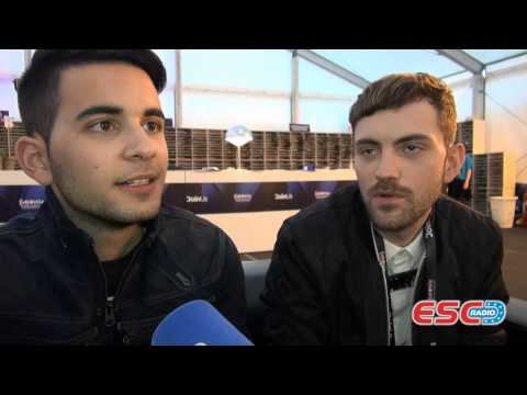 Freaky Fortune feat. RiskyKidd (Greece 2014) Interview ESC Radio 2014