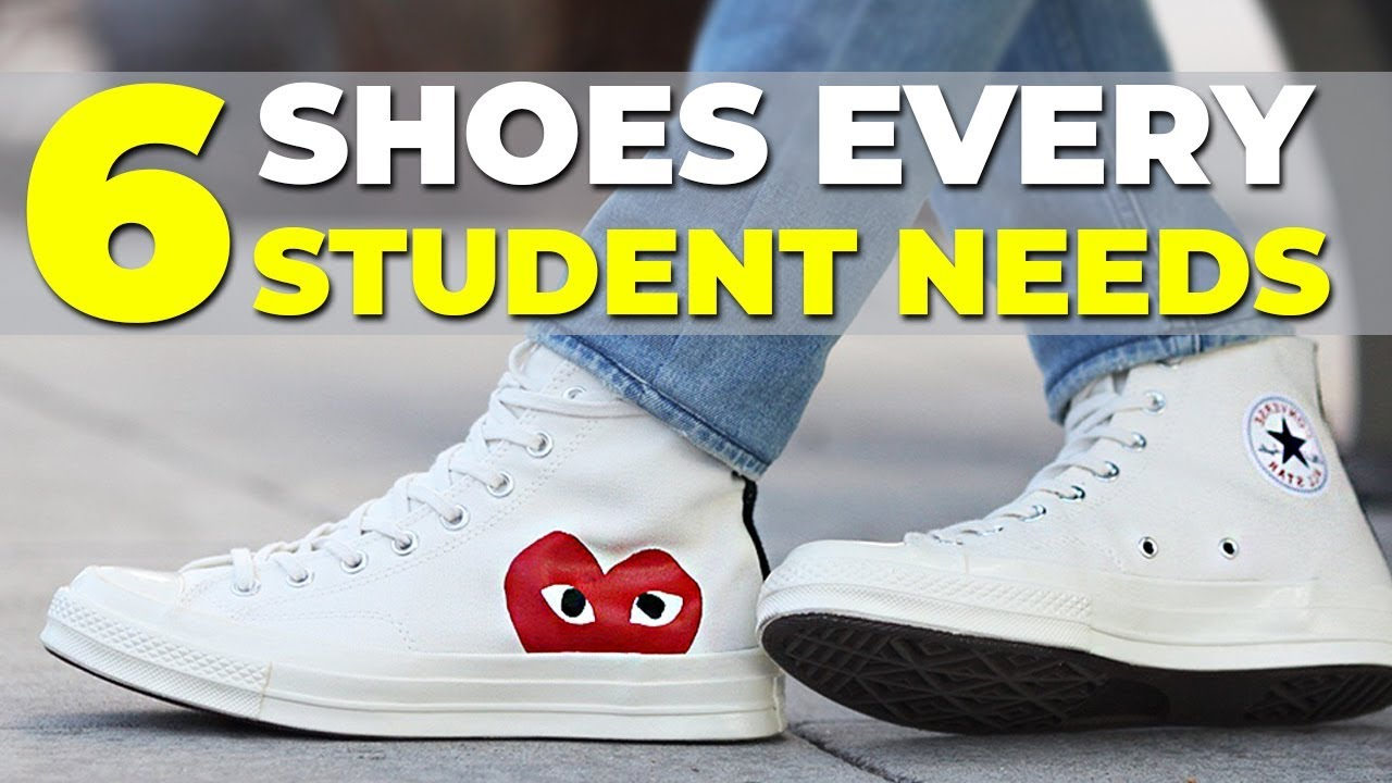 BEST SNEAKERS FOR SCHOOL | 6 Shoes