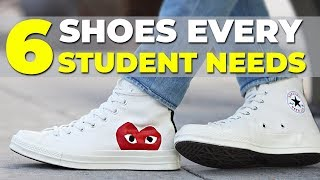 BEST SNEAKERS FOR SCHOOL | 6 Shoes Every Student Needs | Alex Costa