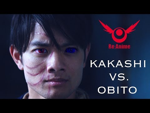 NARUTO: KAKASHI VS. OBITO FIGHT | RE:ANIME