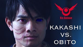 vuclip NARUTO: KAKASHI VS. OBITO FIGHT (RE:ANIME)