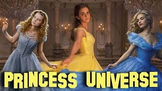 Disney's Cinematic Princesses | Beauty & The Beast Easter Eggs