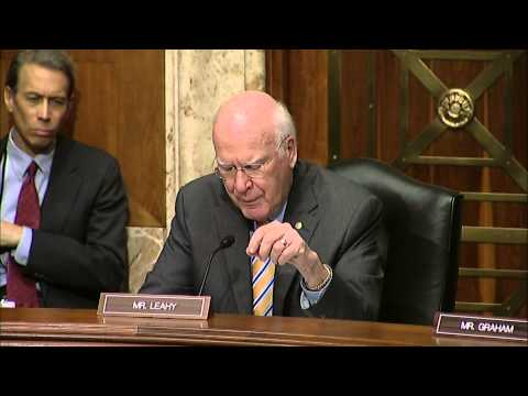 Leahy Holds Appropriations Subcommittee Hearing With USAID Administrator Rajiv Shah