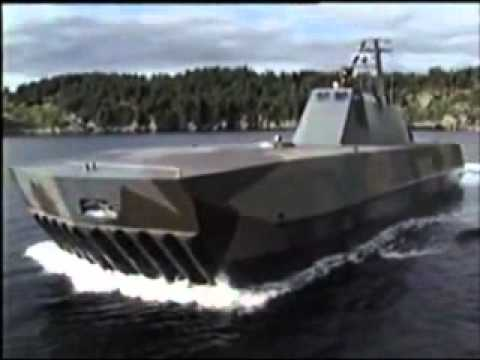 Umoe Mandal Skjold class coastal corvette - YouTube
