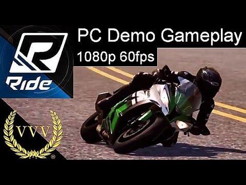 Ride Demo PC 1080p 60fps Gameplay