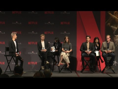 'Marvel's Iron Fist'(마블 아이언 피스트) TALK Media Conferences (Finn Jones, Jessica Henwick)