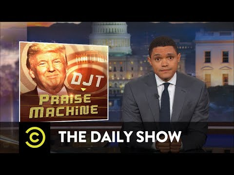 "Thumbnail: The Truth About ""Covfefe"" & The Trump Propaganda Machine: The Daily Show"