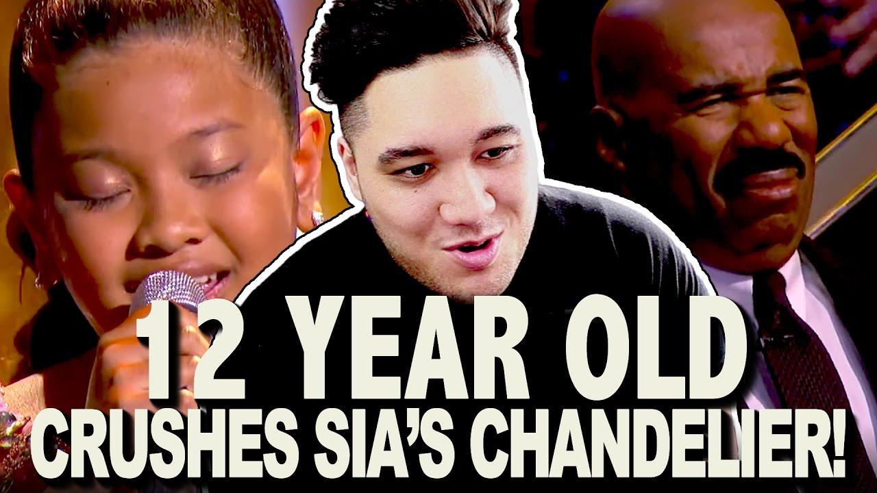 Little Big Shots - 12-Year-Old Elha Nympha Crushes Sia\'s ...