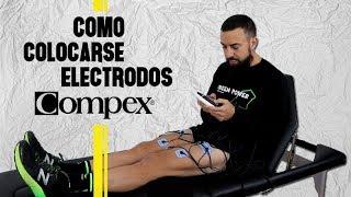 COMO PONERSE LOS ELECTRODOS DEL COMPEX .