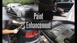 Paint Enhancement / Working In Direct Sunlight / Audi A8 W12