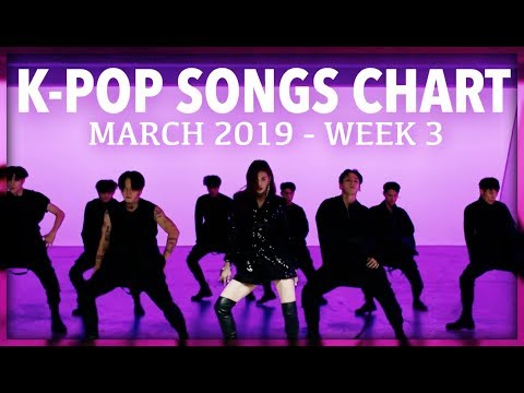 K-POP SONGS CHART  MARCH 2019 WEEK 3