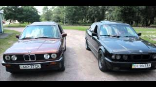 BMW E30 VS E34