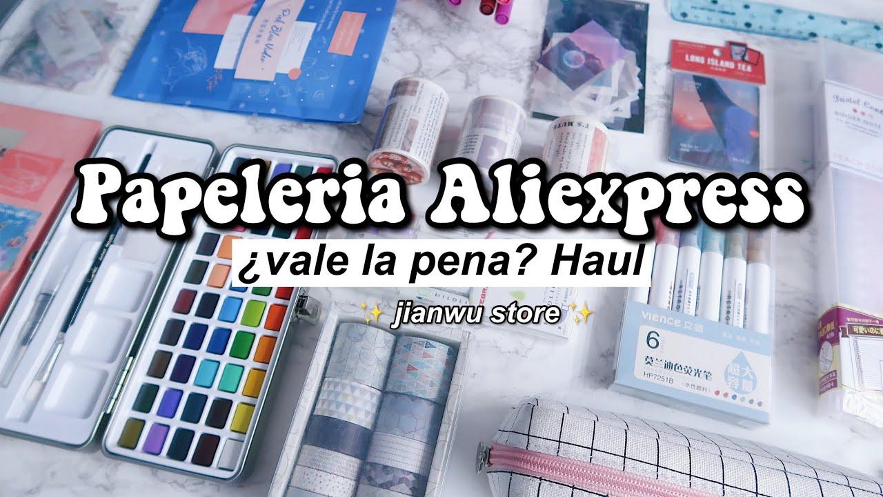PAPELERIA DE ALIEXPRESS ¿vale la pena comprar? HAUL 2020 - DanielaGmr ✨