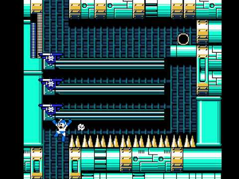 [TAS] NES Rockman 4 Burst Chaser × Air Sliding by magmapeach in 21:37.66