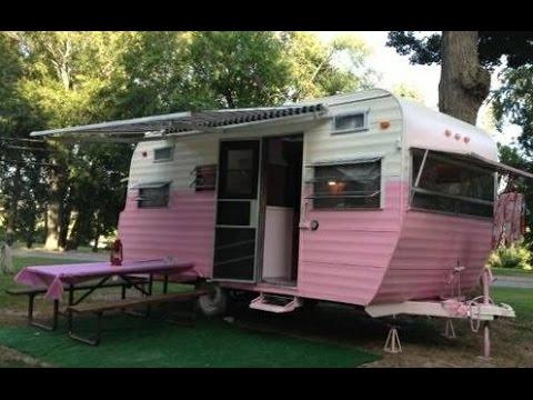 16 Pink Vintage Camper For Sale