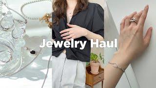 Jewelry Haul 깔끔한 S/S 룩북에 쥬얼리 한스푼...애정하는 목걸이, 팔찌, 반지 조합 추천 | …