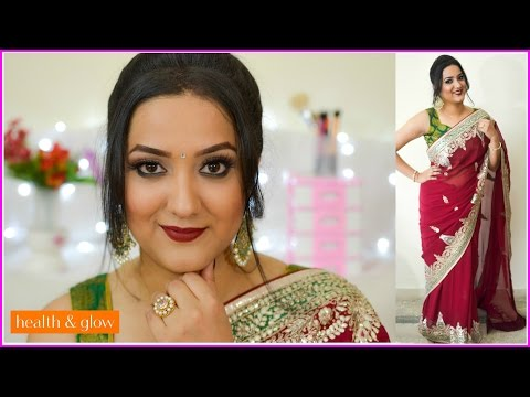 The Ethnic Look Tutorial - Perfect Makeup Idea For A Traditional Function