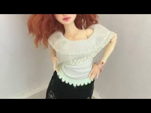 How to make clothes for bjd doll under 10 Min. Out off baby socks