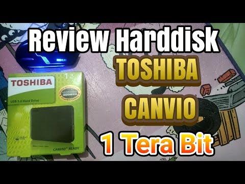Review Hard Disk External Toshiba Canvio 1Tb USB 3.0