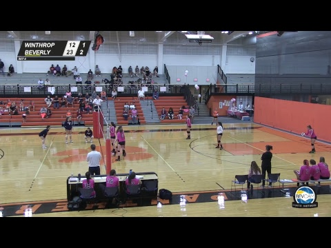 Beverly vs Winthrop High School Volleyball