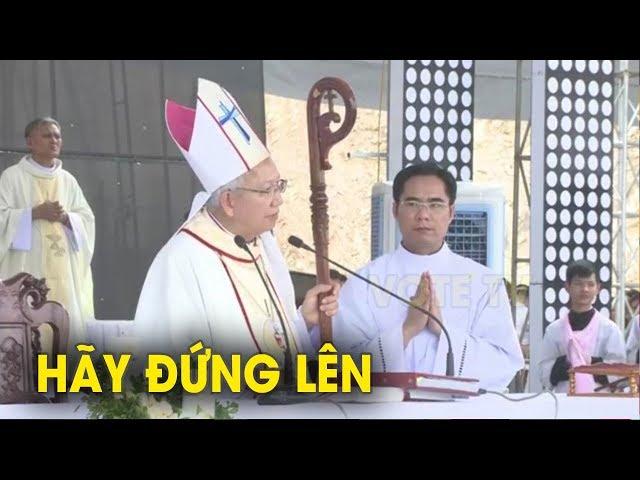 Trong lúc dư luận đang nóng Đức Giám Mục Nguyễn Thái Hợp gây xôn xao với bài giảng chấn động