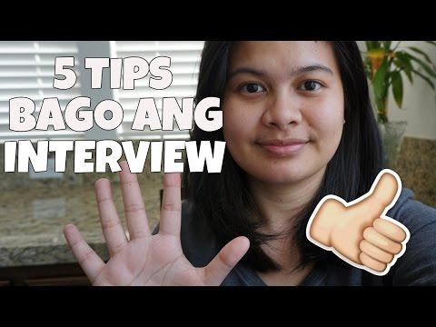5 TIPS BAGO ANG INTERVIEW SA U.S. EMBASSY MANILA (TAGALOG) - AbbyManio