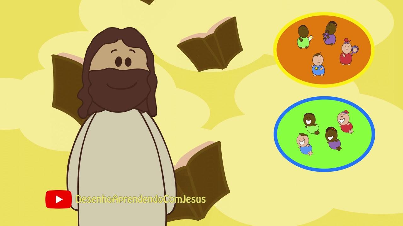 Desenho Aprendendo Com Jesus Ser Humilde Youtube
