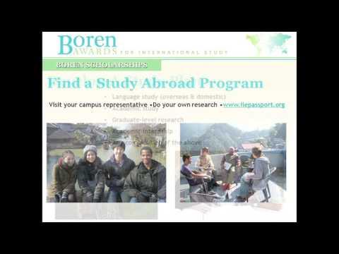 Born Awards/Scholarship seminar at San Diego Mesa College's 2015 International Eduction Week