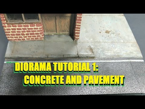 Diorama Tutorial 1: Roads and Pavement