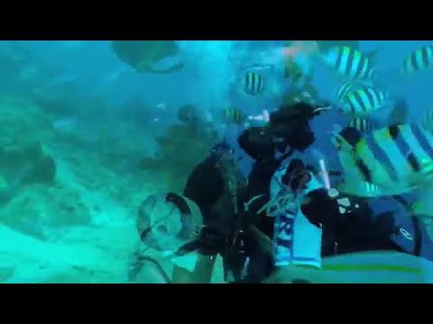 Scuba Diving The SS President Coolidge - highlights Jan 2010 - PART 1